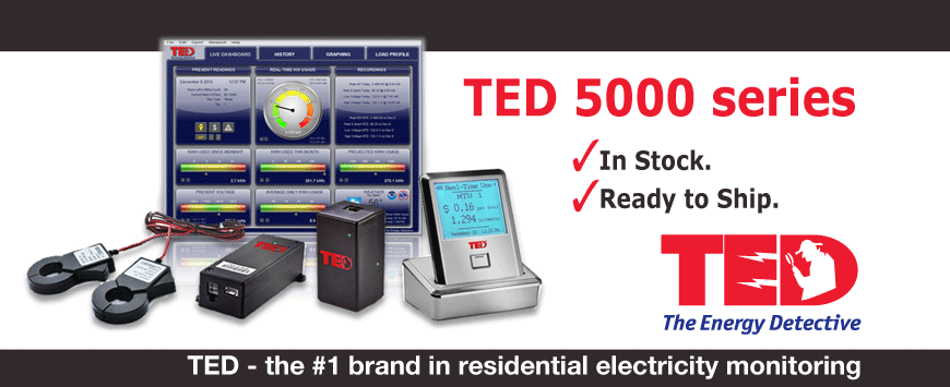 The Energy Detective, TED5000 Home Energy Monitor