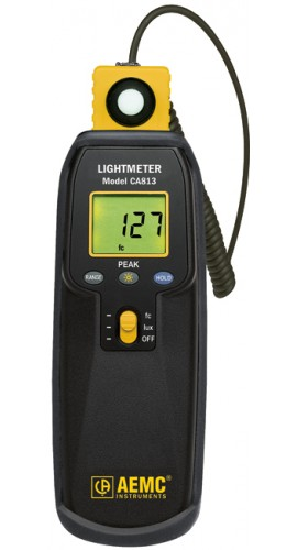 AEMC CA813 Lightmeter