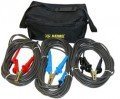 AEMC 2119.87 Test Leads with Hippo Clips for the 5050/5060/5070 & 6505, Set of 3, Colour Coded, 45ft