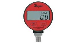 Dwyer DPGA-04 PRESSURE GAUGE, DIGITAL, 0-5 PSI, AIR/GAS