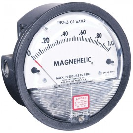 Dwyer 2000-0D MAGNEHELIC, DIFFERENTIAL PRESSURE GAUGE, 0/0.50
