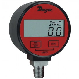 Dwyer DPGA-04 Digital Pressure Gauge (0 to 5 psi) for Air/Gas with 1% Accuracy