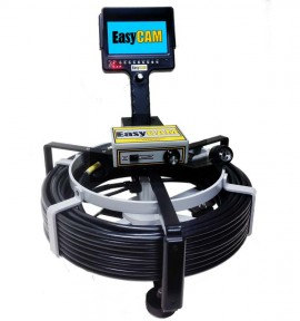 Easycam E5150 Sewer Camera For 4 And Larger Pipe Hand