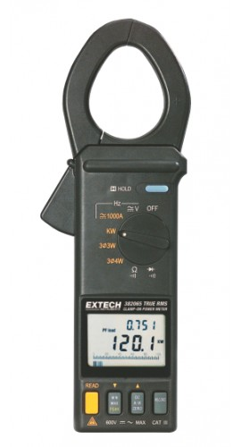 Extech 382068 1000A True RMS AC/DC Clamp-on Power Datalogger Kit