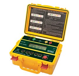 Extech GRT300 4-Wire Earth Ground Resistance Tester Kit