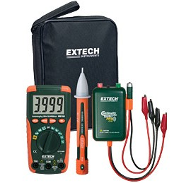 Extech MN16A-KIT electrical test kit