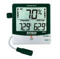 Extech 445815 Hygro-Thermometer Humidity Alert with Dew Point with Remote Probe