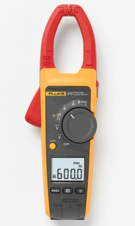Fluke 374 True-RMS 600A AC/DC Clamp Meter