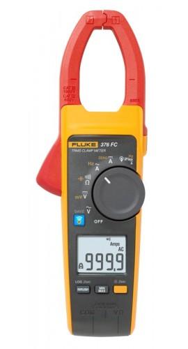 Fluke Dc Clamp On Meter : Fluke fc a ac dc trms wireless clamp with iflex