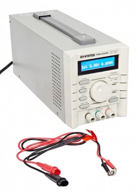 Instek PSS-2005 Programmable DC Power Supply, 20V/5A, RS232 Interface
