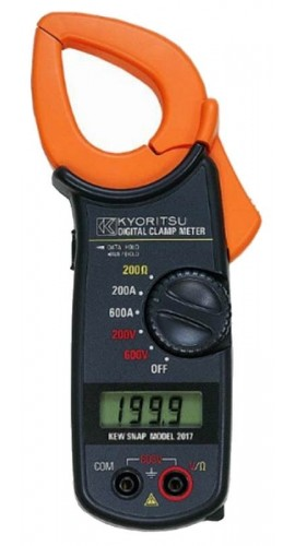 Using Digital Clamp Meter : Kyoritsu digital clamp meter a v