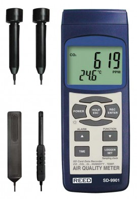 REED Instruments SD-9901 Indoor Air Quality Meter/Data Logger