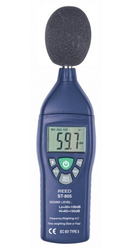 REED Instruments ST-805 Sound Level Meter