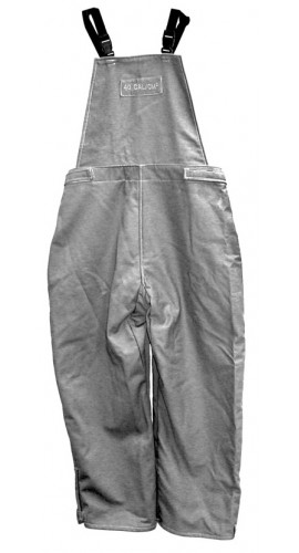 Salisbury ACB7530GY-M 75 cal PRO-WEAR Flash Protection Bib Overalls M
