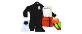 Salisbury SKCA8-M 8 cal/cm coverall kit without gloves,Medium