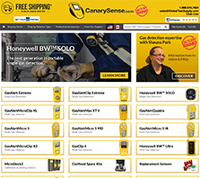 CanarySense.com - Your Source for Gas Detection Equipment