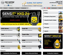 SENSIT-Direct.com - SENSIT Technologies offers a full line of quality, made in the USA products from confined space monitors to combustible gas leak detectors.