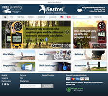 WeatherMeters-Direct.com - Distributor of Kestrel wind and weather meters