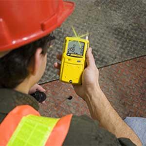 BW MCXL-XWHM-Y-NA GasAlertMicroClip XL 4-Gas Personal Gas Detector, %LEL,  O2, H2S, CO
