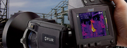 FLIR T-Series Thermal Imaging Cameras includ the T400 and T600 variations