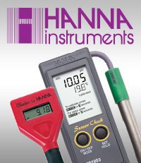 Hanna Instruments product line