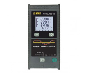 AEMC PEL 103 Power & Energy Logger