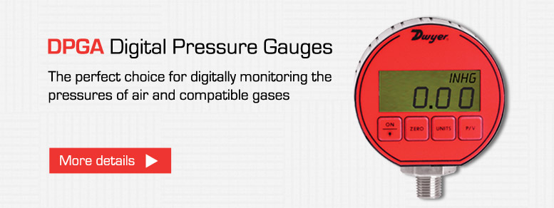 Dwyer DPGA Digital Pressure Gauges