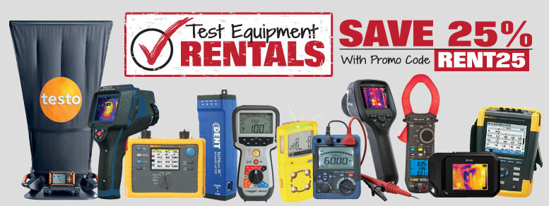 We have rental products for your needs.