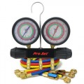 CPS MT2H7P5E Manifold and Gauge Set, 5ft BVE Hoses-