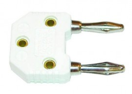 AEMC 2125.83 Male Banana to Mini Female with K Thermocouple Adapter-