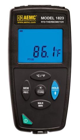 AEMC 1823 RTD Thermometer/Data Logger