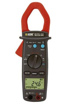 AEMC 512 Clamp-on Meter