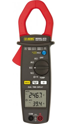 AEMC 670 Clamp-on Meter