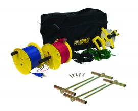 AEMC 2135.37 Ground Test Kit for 4-Point Testing, 500 ft-