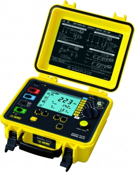 AEMC 6472 Digital Multifunctional Ground Resistance Tester with DataView Software, 2, 3, & 4-Point-