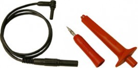 AEMC HX0071 Power Extension Lead with Tips & Alligator Clips for AEMC OX Oscilloscopes-