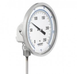 New Details about  /Ashcroft 50 EL 60 R 040 0//250F Bimetal Thermometer 5/'/'