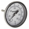 Baker T30025-550 Bimetal Thermometer, 50 to 550°F (0 to 300°C)-