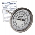Baker T3004-250 Bimetal Thermometer, 0 to 250°F (-20 to 120°C),  -