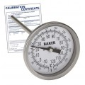 Baker T3006-250 Bimetal Thermometer, 0 to 250°F (-20 to 120°C),  -
