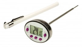 Bel-Art 60900-1600 H-B Durac Calibrated Electronic Stainless Stem Thermometer, -40 to 450°F-