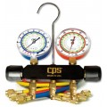 CPS MBDP5 Manifold and Gauge Set with 5' Premium Hoses-