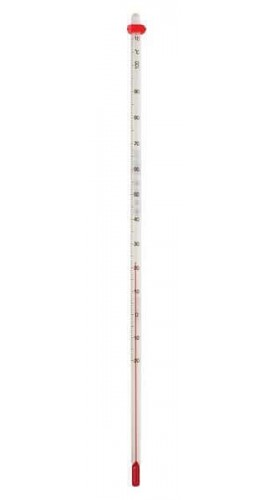 Digi-Sense 08008-23 Liquid-in-Glass Thermometer, 0 to 230°F, Total Immersion-