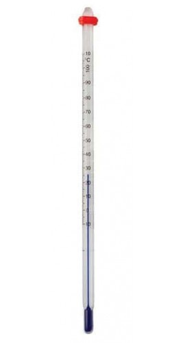 Digi-Sense 08077-83 Safety-Coated Liquid-in-Glass Thermometer, 0 to 230°F, Total Immersion-