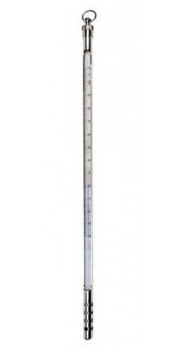 "Digi-Sense 08077-97 Armored Liquid-in-Glass Thermometer, -10 to 260°C, 3"" Immersion-"