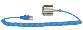 "Digi-Sense 08500-86 Type-T Dropping/Magnetic Probe with Mini Connector, 1.5"", Exposed-"