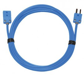 Digi-Sense 08505-50 Thermocouple Extension Cable with Mini Connector, Type T, 50'-