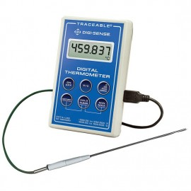 Digi-Sense 37804-06 Scientific Single-Input RTD Thermometer, Penetration Probe, -328 to 932°F-