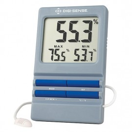 Digi-Sense 90081-00 Thermohygrometer with Remote Probe, 5 to 95%, 32 to 140°F-