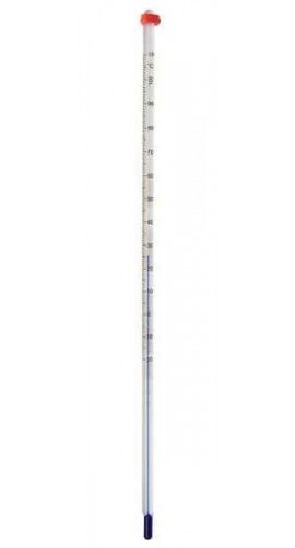 Digi-Sense 90260-20 General Purpose Liquid-in-Glass Thermometer, -20 to 110°C, Total Immersion-